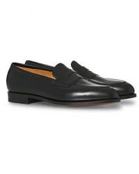 Edward Green Piccadilly Penny Loafer Black Calf men UK7,5 - EU41,5 Sort