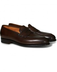 Edward Green Piccadilly Penny Loafer Dark Oak Antique men UK7 - EU41 Brun