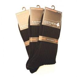 Egtved Sokker, JBS Undertøj 3 PAR Egtved luksussokker i Merino uld Mørke blå 56276 290