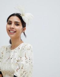 Elegance Fascinator Headband - Cream