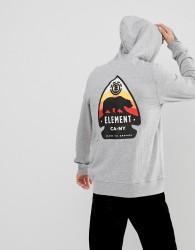 Element Arrow Back Print In Grey - Grey