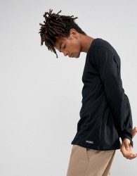 Element Basic Long Sleeve T-Shirt in Black - Black