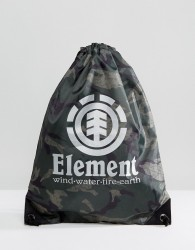 Element Buddy Sports Bag in Camo - Black