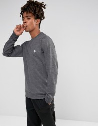 Element Cornell Logo Sweat In Charcoal - Grey