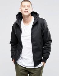 Element Dulcey Hooded Jacket Black - Black