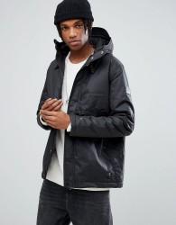 Element Freeman Wax Waterproof Jacket in Black - Black