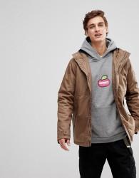 Element Freeman Wax Waterproof Jacket in Tan - Brown