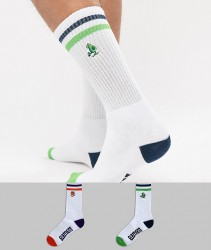 Element High Rise 2 Pack Socks - Black