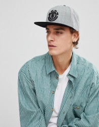 Element Knutsen Snapback Cap In Grey - Grey