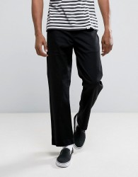 Element Rhodes Chinos In Straight Fit - Black