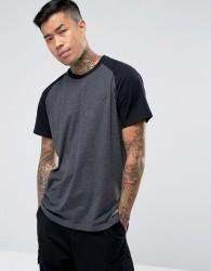 Element Short Sleeve Raglan T-Shirt - Grey
