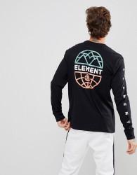 Element Terra Back Print In Black - Black