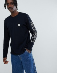 Element x Keith Haring long sleeve t-shirt in black - Black
