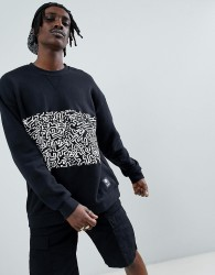 Element x Keith Haring sweat in black - Black