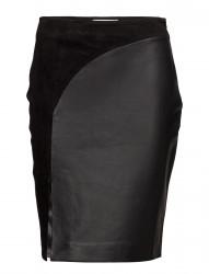 Elfes Leather Skirt