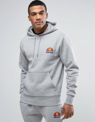 Ellesse Hoodie With Small Logo - Grey