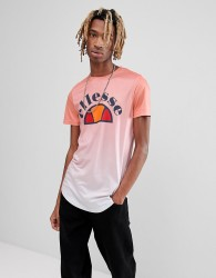ellesse Ombre T-Shirt In Pink - Pink