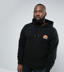 Ellesse PLUS Hoodie With Small Logo - Black