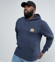 Ellesse PLUS Hoodie With Small Logo - Navy