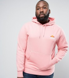 Ellesse PLUS Hoodie With Small Logo - Pink