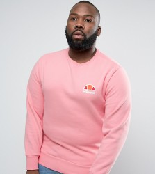 Ellesse PLUS Sweatshirt With Small Logo - Pink