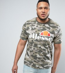 Ellesse PLUS T-Shirt With Classic Logo - Green