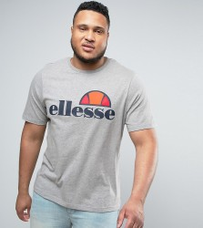 Ellesse PLUS T-Shirt With Classic Logo - Grey