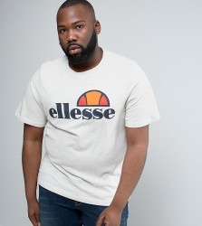 Ellesse PLUS T-Shirt With Classic Logo - Stone