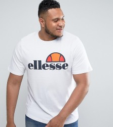Ellesse PLUS T-Shirt With Classic Logo - White