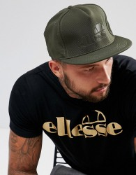 Ellesse Snapback Cap With Tonal Logo In Green - Green