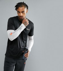 Ellesse Sport Long Sleeve T-Shirt With Layered Sleeve - Black