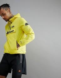 ellesse Sport Overhead Jacket In Yellow - Yellow