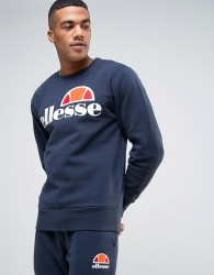 Ellesse Sweatshirt With Classic Logo - Navy