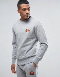 Ellesse Sweatshirt With Small Logo - Grey
