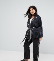 Elvi Navy Pyjama Trouser - Navy