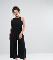 Elvi Relaxed Jumpsuit - Black