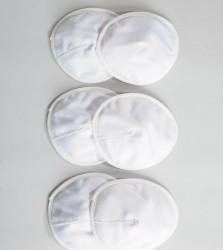 Emma Jane 3 Pack Washable Nursing Pads - White