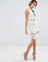 Endless Rose Floral Lace Skirt Co Ord - Multi