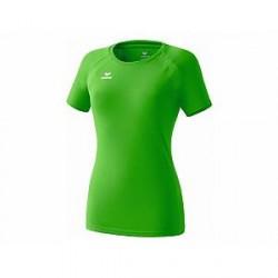 Erima Performance T-Shirt til damer, grøn