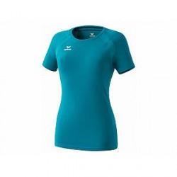 Erima Performance T-Shirt til damer, petrol
