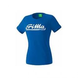 Erima Retro T-Shirt, blå/hvid (damer)
