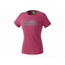 Erima Retro T-Shirt, dahlia (damer)