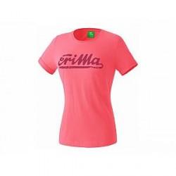 Erima Retro T-Shirt, flamingo (damer)