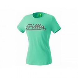 Erima Retro T-Shirt, grøn (damer)