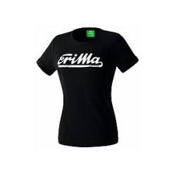 Erima Retro T-Shirt, sort (damer)