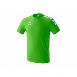 Erima T-shirt 5-Cubes Promo, grøn-hvid