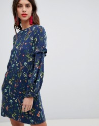 Esprit All Over Floral Print Dress - Multi