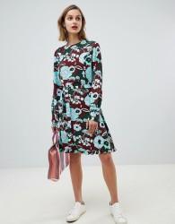 Essentiel Antwerp bloom print mini dress - Multi