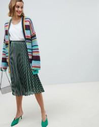 Essentiel Antwerp metallic stripe skirt - Multi