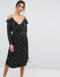 Essentiel Antwerp Oba Long Sleeved Dress - Black